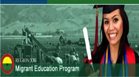 Woman smiling and holding a diploma with farm workers in the background
