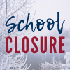 School Closure with an icy tree image