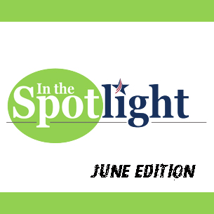 In the Spotlight Logo for  June Edition