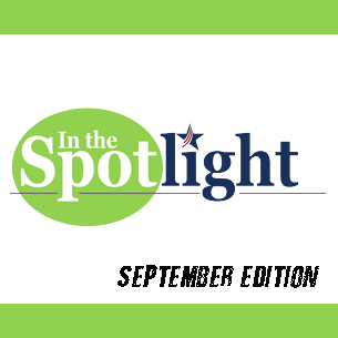 In the Spotlight logo with September Edition